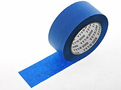 1x 2 in inch 60 yd USA Premium Blue Painters Tape Paint Masking No Residue