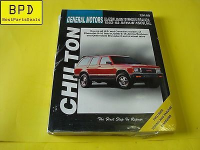 Chilton CHI28160 TCC GM Blazer//Jimmy//Typhoon//Bravada 83-93