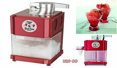 Professional Snow Cone Machine Shaved Ice Maker Electric Commercial Sno Crusher