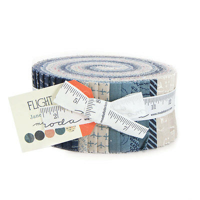 Quilting Fabric Jelly Roll - Moda - Flight