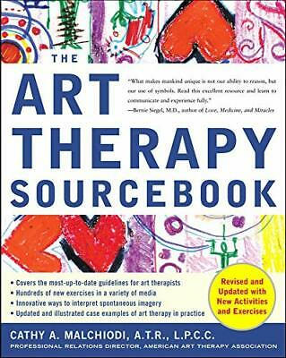Art Therapy Sourcebook (Sourcebooks) by Malchiodi, Cathy Paperback Book The