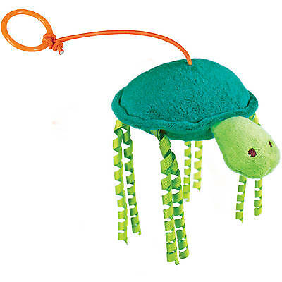SmartyKat Tall Tipper Turtle Refillable Bungee Catnip Toy