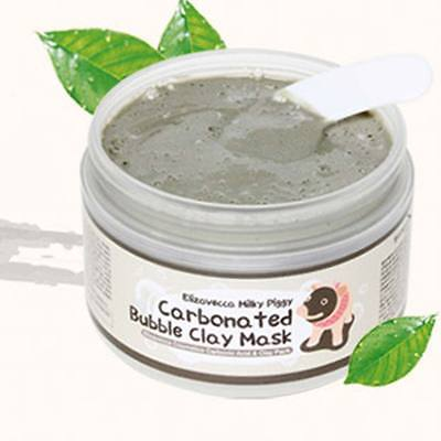 100g Milky Piggy Carbonated Bubble Clay Mask Face Care Blackhead Pore Cleansing