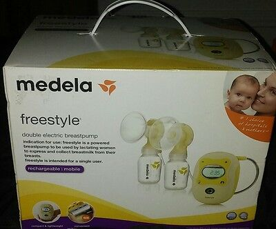 Brand New Medela Freestyle double electric breast pump- mobile & rechargable