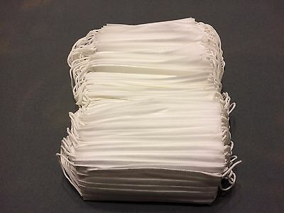(125) Disposable Face Mask 3-Ply Earloop Medical Dental Surgical Hypoallergenic