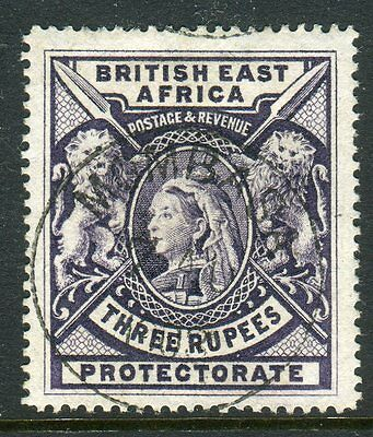 BRITISH EAST AFRICA-1897-1903 3r Deep Violet.  A fine used example Sg 94