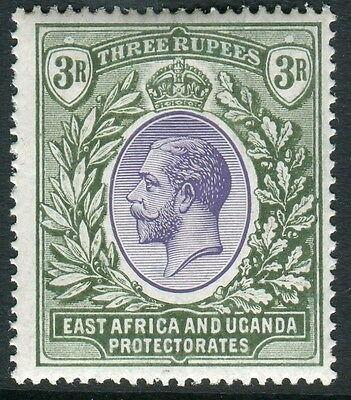 EAST AFRICA & UGANDA-1921 3r Violet & Green lightly mounted mint example Sg 73