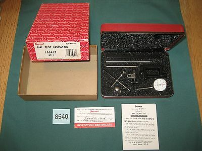STARRETT 196A1Z DIAL TEST INDICATOR, mint condition