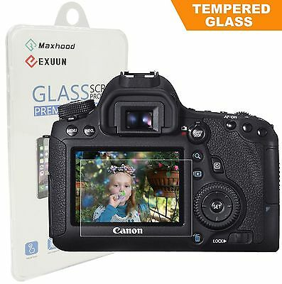 Canon EOS 6D LCD DSLR Camera Tempered Glass Screen Protector Optical 9H 0.3mm