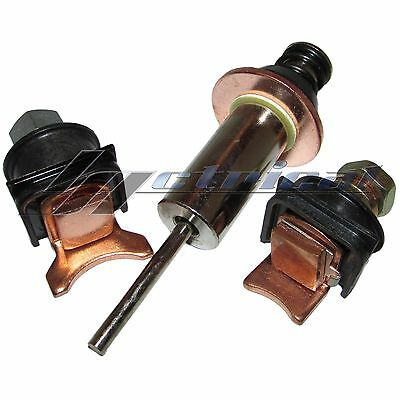 Solenoid Repair Kit Contact Plunger Denso Starter For Bobcat 853 853H 873 Clark