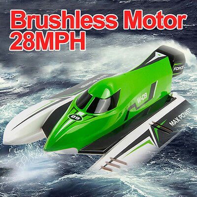 WL915 2.4G RC Century Racing Boat Brushless Motor High Speed Remote Control Red