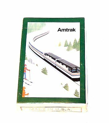 1980's Amtrak US Railroard Train Deck Playing Cards NOS New CN Railway NoRskOfr