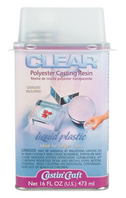 Castin'Craft Clear Polyester Casting Resin 16oz-