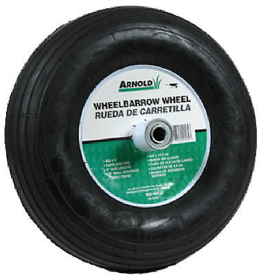 Arnold Corp. WB-466 Replacement Wheelbarrow Tire-4.00X6 WHEELBARROW WHEEL