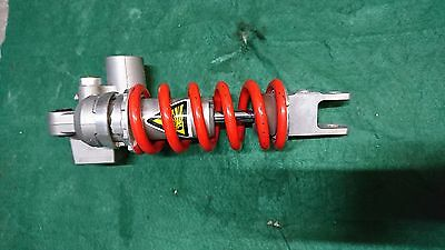 YAMAHA R6 REAR SHOCK ABSORBER 2C0 2006-2007 RED SPRING (o)