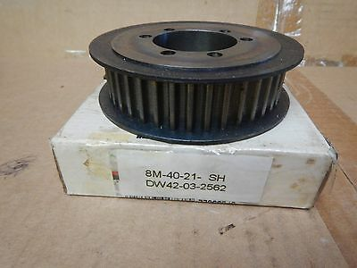Gates Poly Chain GT Sprocket Timing Belt Pulley 8M-40S-21 SH 8M4021SH New