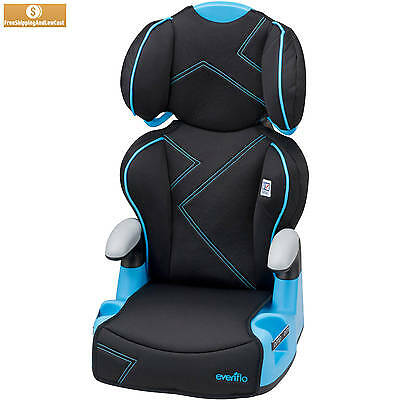 Travel Chair Child Safety Car Seat Evenflo Big Kid Sport High Back Amp Booster