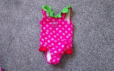 Sweet Girls SWIMMING COSTUME With Built In Nappy Age 9-12 months