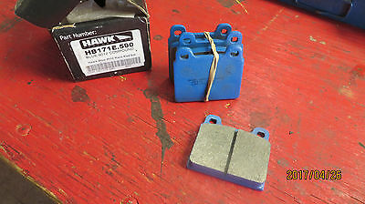 Hawk HB171 9012 Blue compound brake pads - Porsche, Ferrari