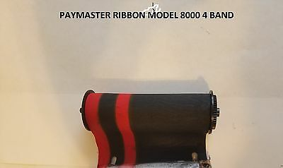 Paymaster original cotton ribbon in 4 (red dol/red cts) band (we help install)