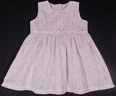 Mothercare baby dress girl cotton 0-3 months