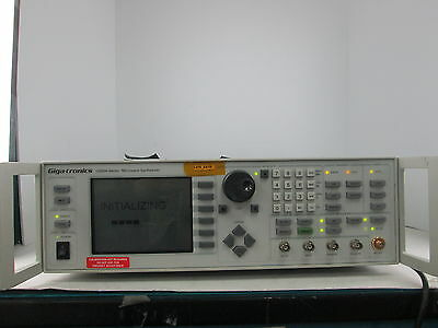 Giga-Tronics Microwave Synthesizer 12000A Ser 12720A/ .01-20 Opt 24 S/n 0106017
