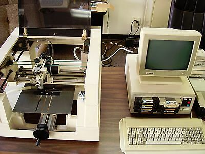 New Hermes Vanguard 3000 Engraving Machine (One Owner) Works Good W/Many Extras