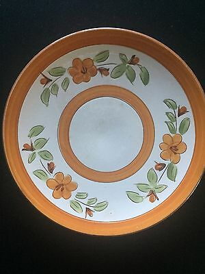 """STANGL POTTERY Vintage Mid Century Luncheon size plate 8"""" diameter"""