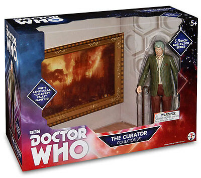 """Doctor Who THE CURATOR 5"""" ACTION FIGURE COLLECTOR SERIES SET Underground Toys"""