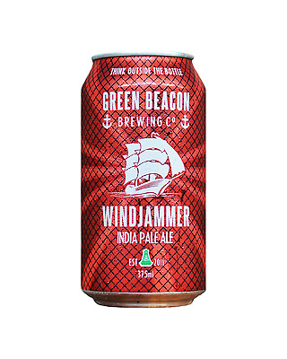 Green Beacon Brewing Co Windjammer India Pale Ale Cans 375mL case of 24