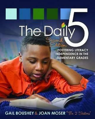 NEW The Daily 5 By Gail Boushey Paperback Free Shipping
