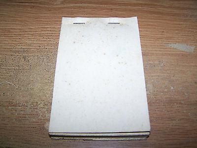 Dx Oil Company Receipt Book Pocahontas, Arkansas, Siffords Dx Service Station