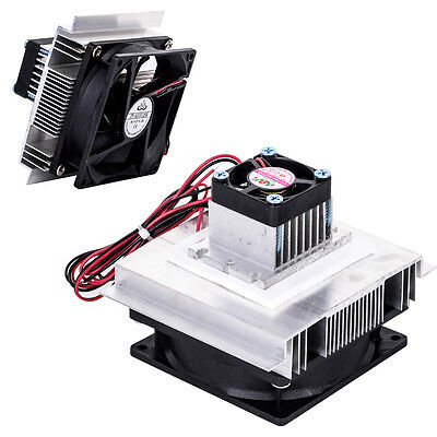 Thermoelectric Refrigeration Cooling System Semiconductor Cooler Fan TEC-12706