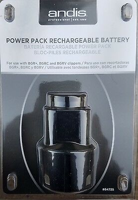 New Andis BGR+ BGRC BGRV Clipper Battery Charger Pack #64725 - Free Fast Shippin