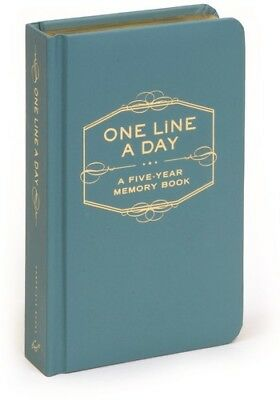 One Line a Day: A Five-Year Memory Book [New Book] Hardcover, Journal