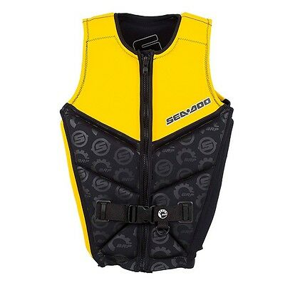 SEADOO PDF2 Yellow Full Spec Life vest/Jacket Level 50