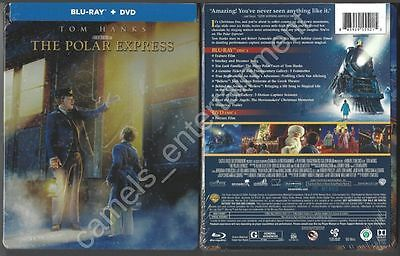 The Polar Express (Blu-ray/DVD, 2-Disc Set, STEELBOOK) BRAND NEW & SEALED