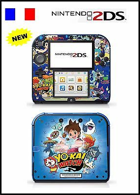 Skin Sticker Autocollant Deco Pour Nintendo 2Ds Ref 152 Yo-Kai Watch