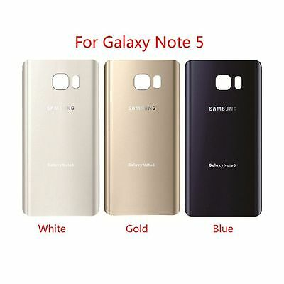 Original Battery Cover Glass Housing Back Door for Samsung Galaxy Note 5 N920