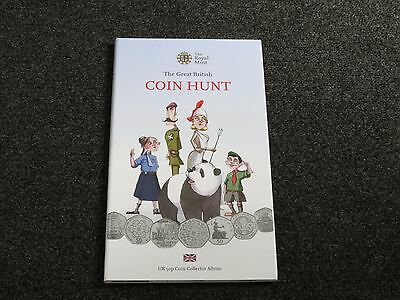 Royal Mint 50p Fifty Pence Coin Hunt Album