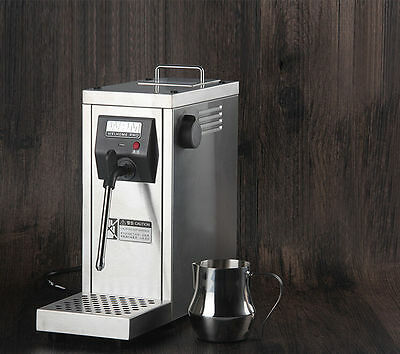 Professional Auto Coffee Frother Milk Steamer Cappuccino Latte Coffeemaker 220V