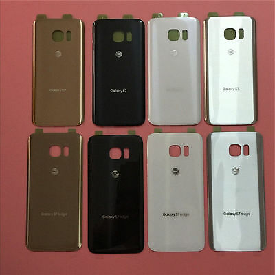 OEM Rear Battery Glass Back Door Cover Case For Samsung Galaxy S7 S7 edge AT&T