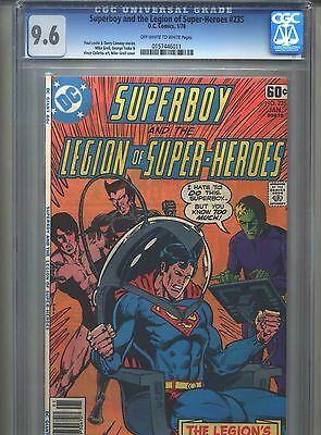 Superboy #235 CGC 9.6 (1978) & Legion of Super-Heroes Highest Grade