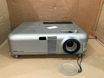 Cheap NEC VT 460 K LCD Used Projector Tested, Working, 565 Hours, 24hr Courier