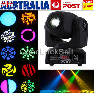 50W RGBW LED Moving Head Light DMX512 Stage Party DJ Pub Bar Show Lighting AU!