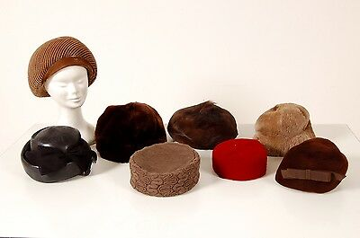 Lotto 7 cappelli vintage. Made in Italy.