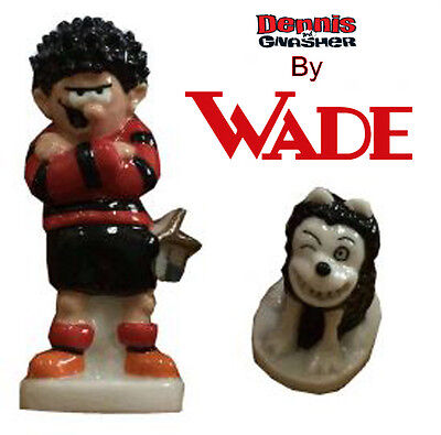 Wade Dennis and Gnasher Whimsie Set