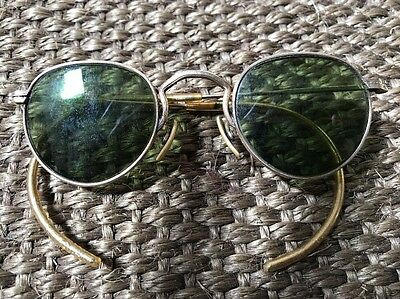 American Vintage Retro Sun Glasses Spectacles 15k Gold Filled (plated) 1930/40's