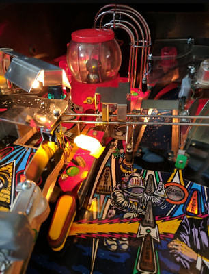 TWILIGHT ZONE PINBALL - LEFT SPIRAL ARROW [flipper pinball MOD]