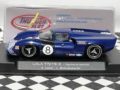 Thunder Slot  Lola T70 Mkiii Blue  #8  Ca00103S/w  1:32  Bnib Latest Out